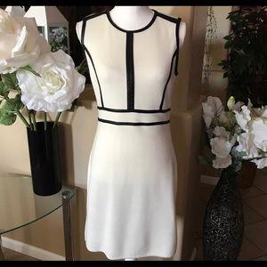 Ivory Dress Calvin Klein Size M